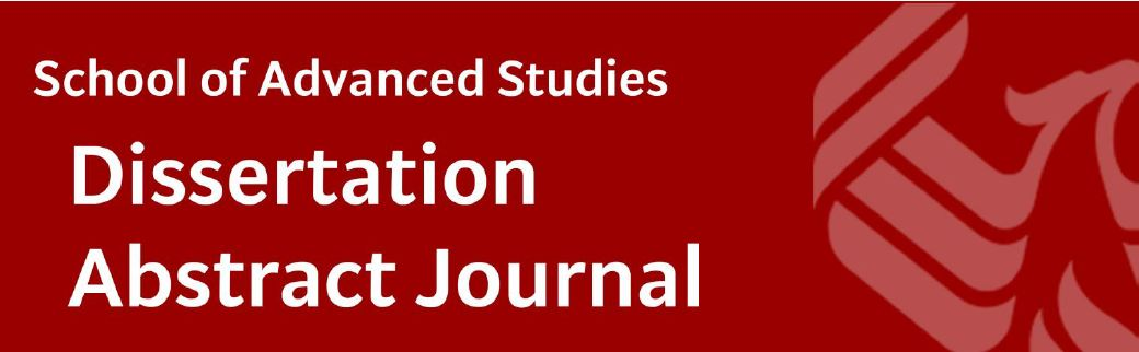 sas dissertation abstract journal 62 title, keywords and abstracts  each sage journal has its own editorial office and its own instructions for authors  as principal author on any multiple- authored publication that substantially derives from the student's dissertation or thesis.