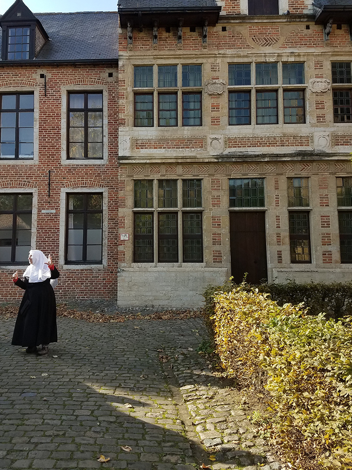 Beguine at Leuven Grand Beguinage