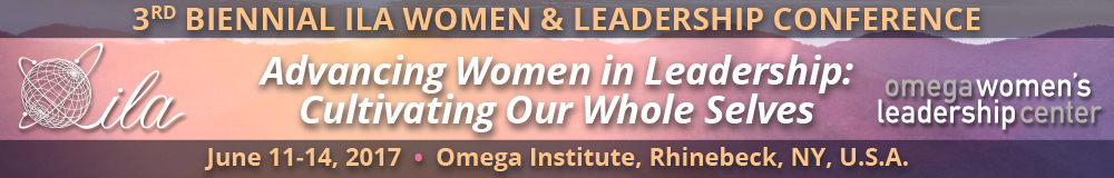ILA Women and Leadership Conference banner