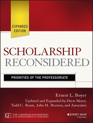 Scholarship Reconsidered book cover