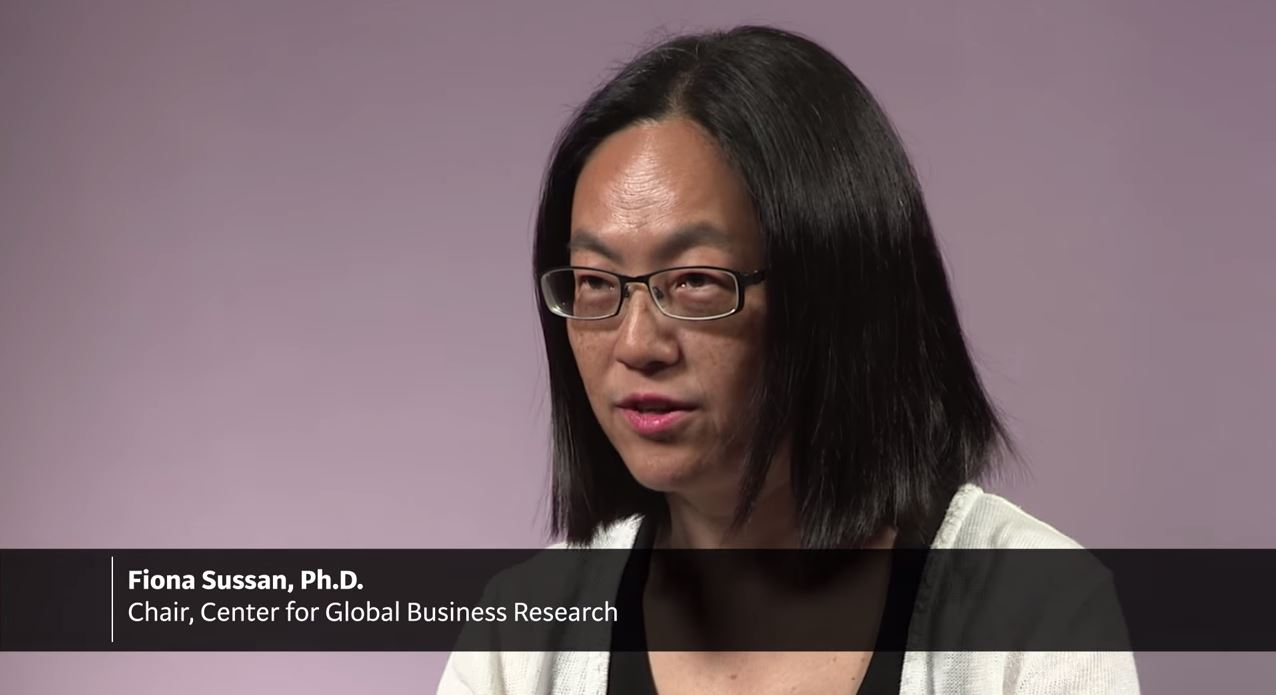 Learn More About The Center For Global Business Research Fiona Sussan Center Overview Learn More About Center Global Business