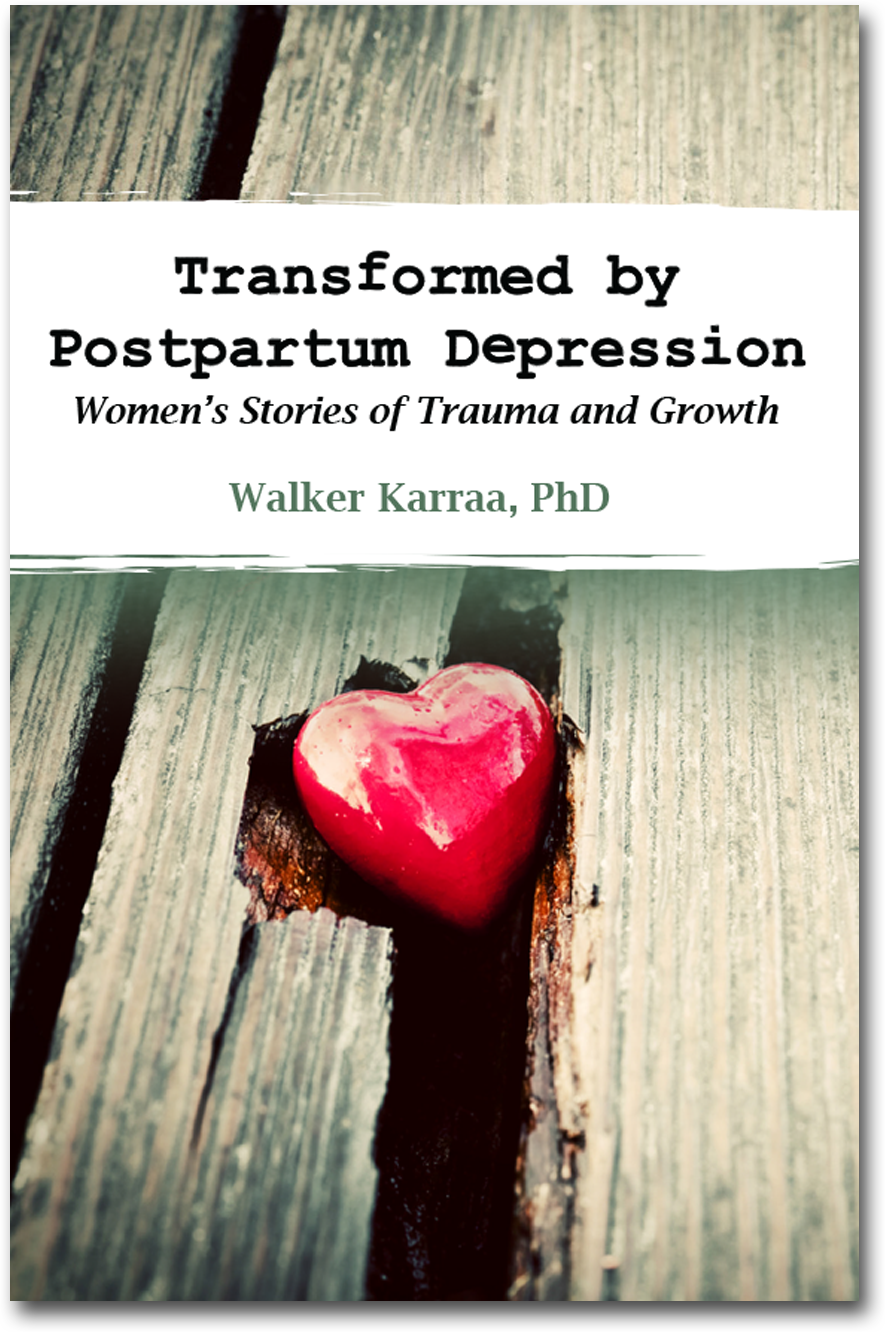 Transformed by Postpartum Depression Book cover