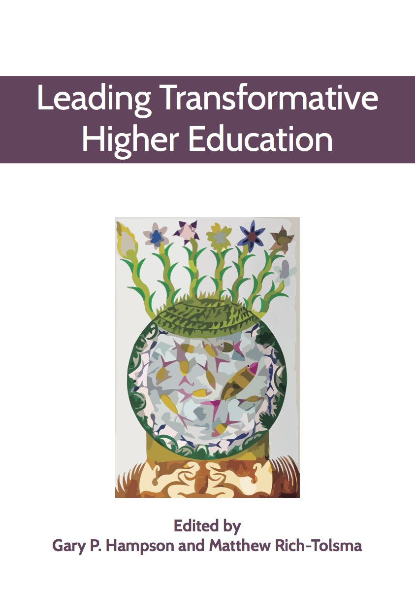 Leading Transformative Higher Education Book Cover