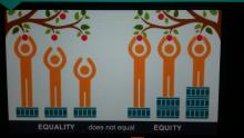 Equality does not equal Equity