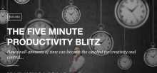 5 Minute Productivity Blitz logo
