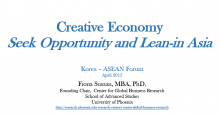 Still of Creative Economy cover