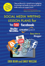 Social Media Writing Lesson Plans Book Cover