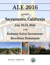 ALE 2016 Conference Logo