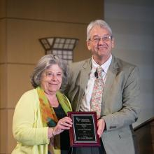 Dr. Lynne Devnew Receives Distinguished Scholar Award