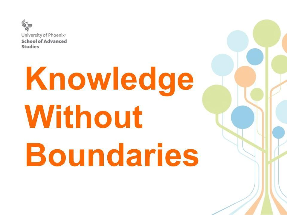 Knowledge Without Boundaries Logo