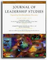Journal of Leadership Studies - Cover