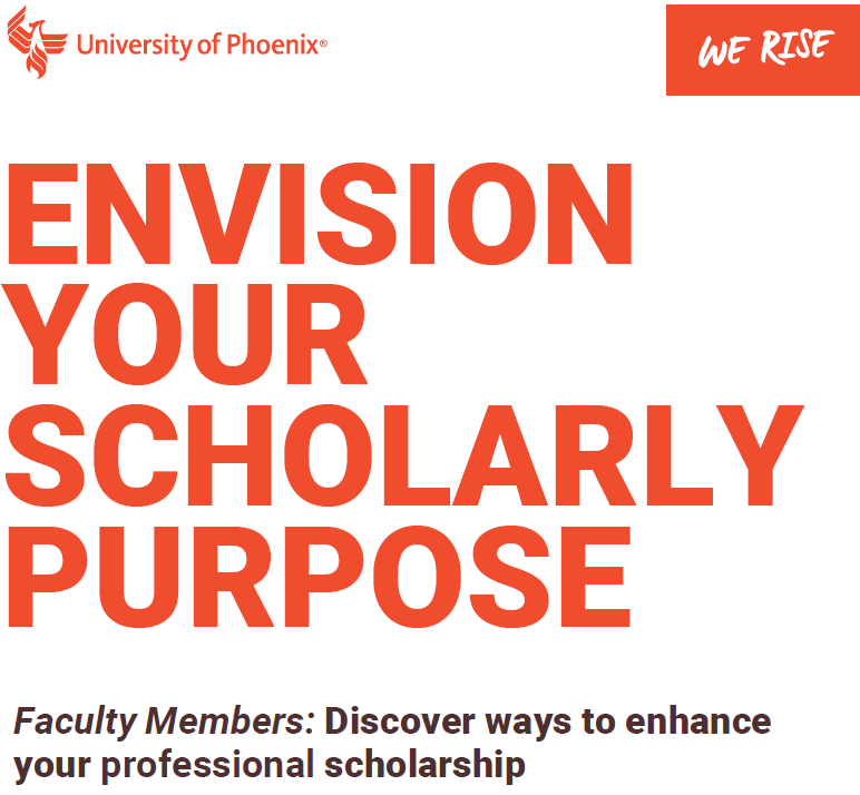 Envision Your Scholarly Purpose